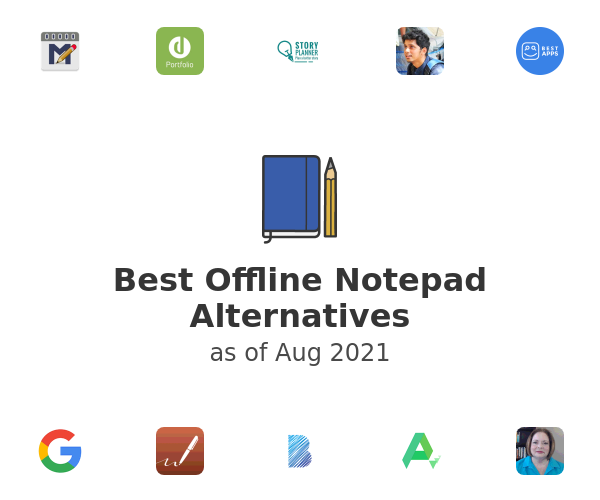 Best Offline Notepad Alternatives