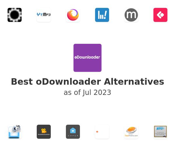 Best oDownloader Alternatives