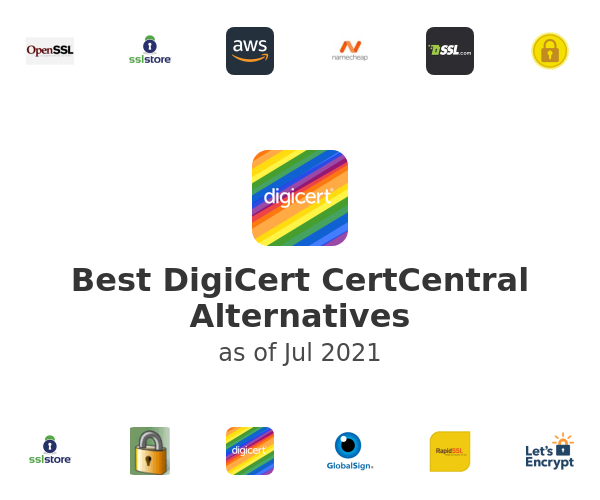 Best DigiCert CertCentral Alternatives