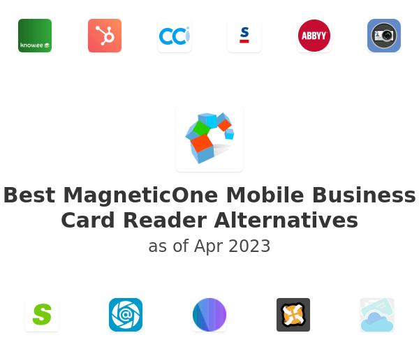 Best MagneticOne Mobile Business Card Reader Alternatives