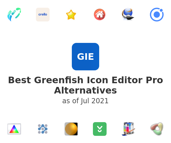 Best Greenfish Icon Editor Pro Alternatives