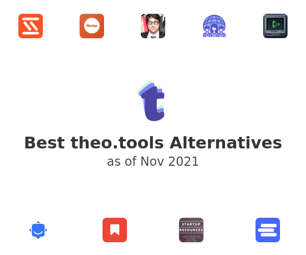 Best theo.tools Alternatives
