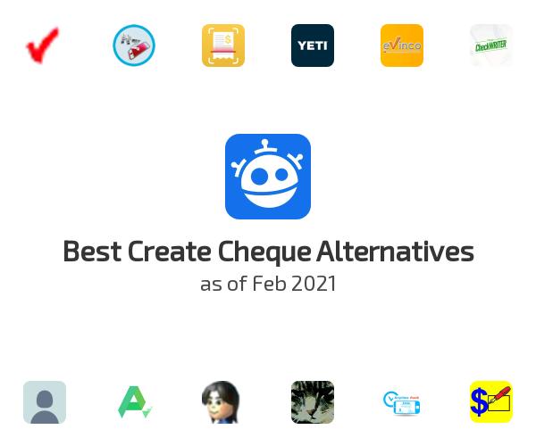 Best Create Cheque Alternatives