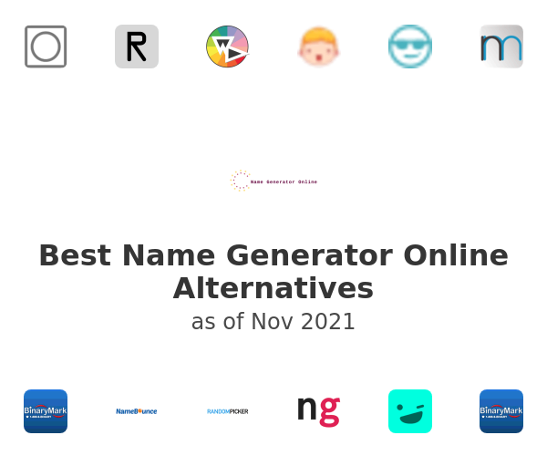 Best Name Generator Online Alternatives