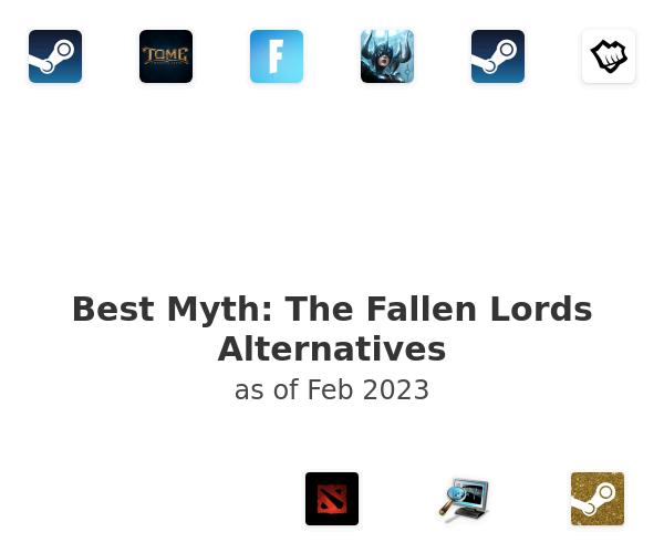 Best Myth: The Fallen Lords Alternatives