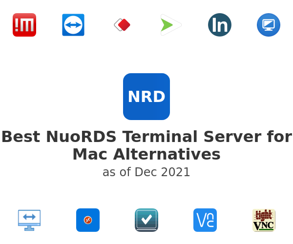 Best NuoRDS Terminal Server for Mac Alternatives
