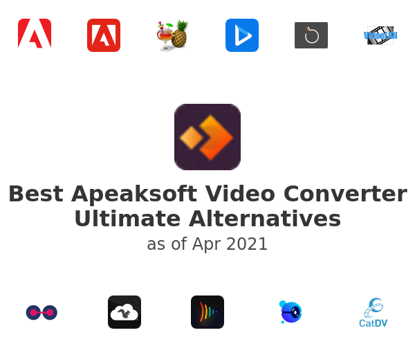 Best Apeaksoft Video Converter Ultimate Alternatives