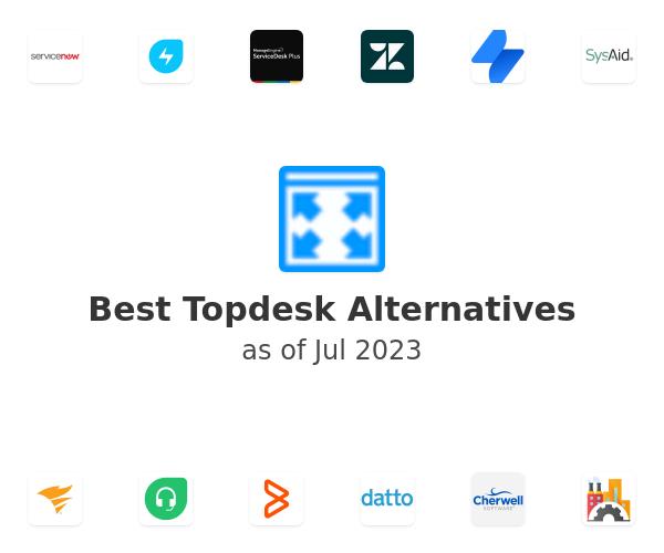 Best Topdesk Alternatives