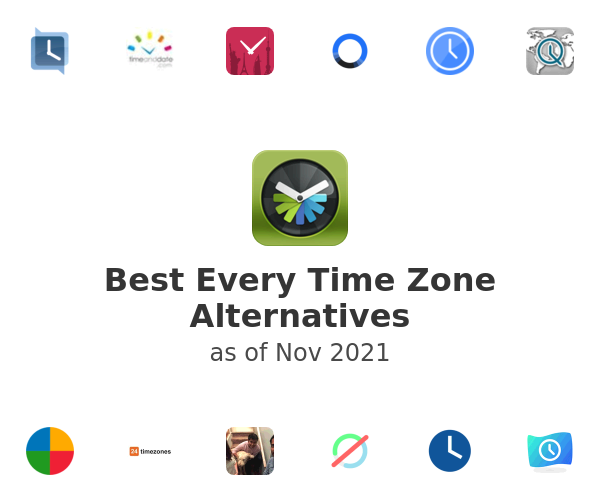 Best Every Time Zone Alternatives