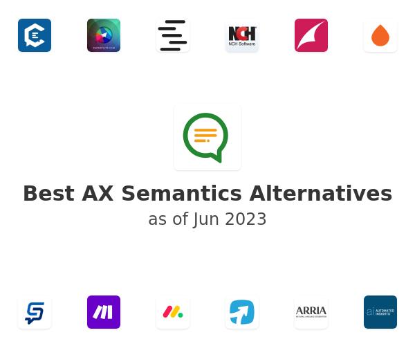 Best AX Semantics Alternatives