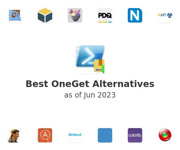 Best OneGet Alternatives