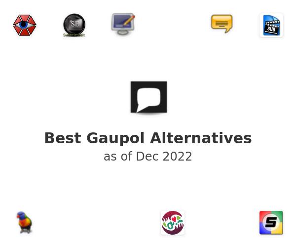 Best Gaupol Alternatives