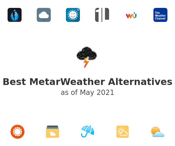 Best MetarWeather Alternatives