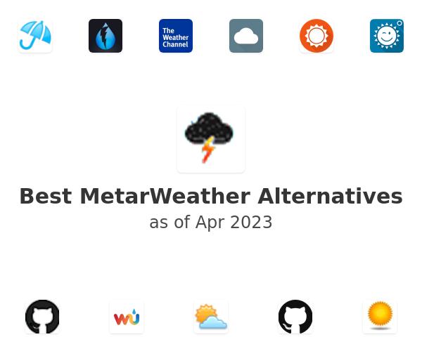 Best MetarWeather Alternatives