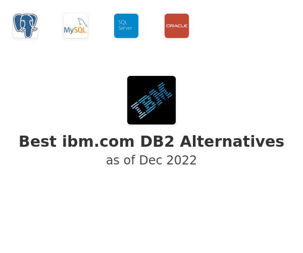 Best DB2 Alternatives