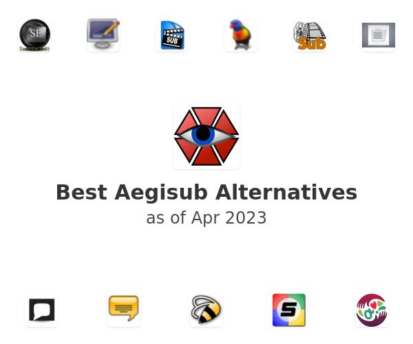Best Aegisub Alternatives
