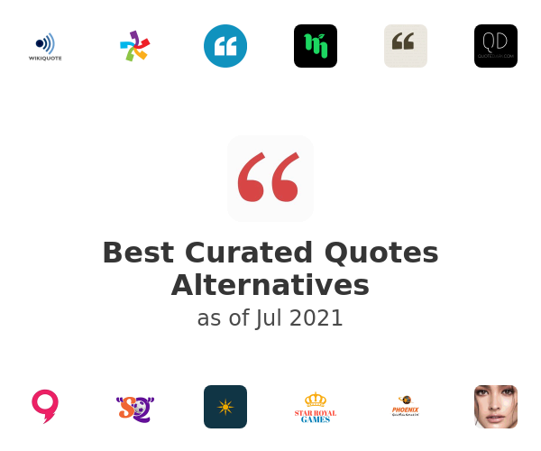 Best Curated Quotes Alternatives