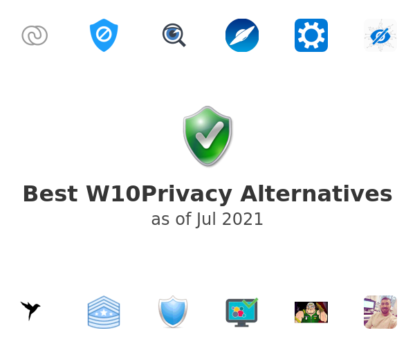 Best W10Privacy Alternatives