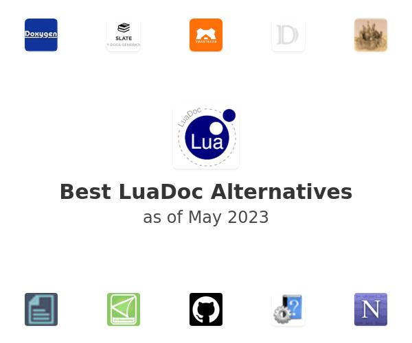 Best LuaDoc Alternatives