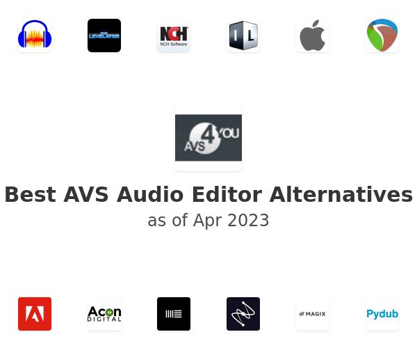 Best AVS Audio Editor Alternatives