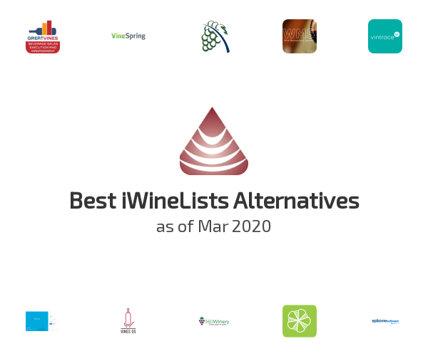 Best iWineLists Alternatives