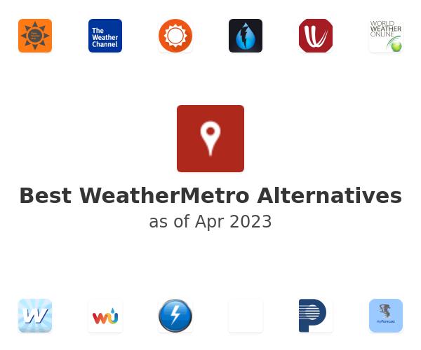 Best WeatherMetro Alternatives