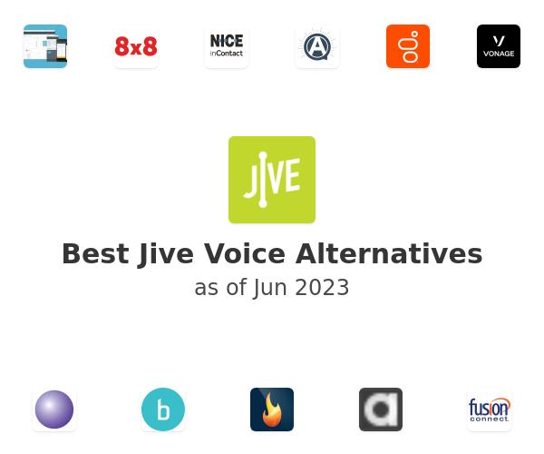 Best Jive Voice Alternatives