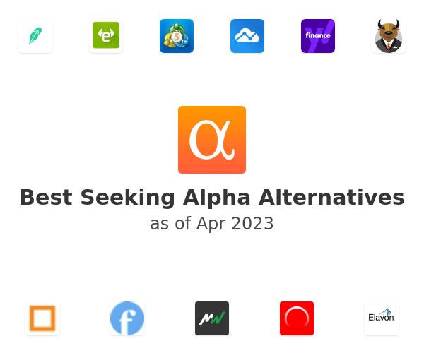 Best Seeking Alpha Alternatives