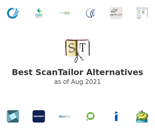 Best ScanTailor Alternatives