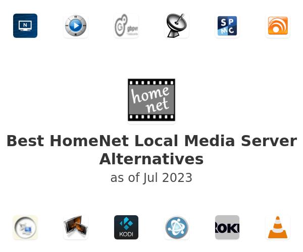 Best HomeNet Local Media Server Alternatives