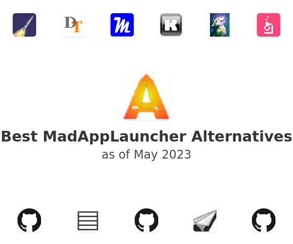 Best MadAppLauncher Alternatives