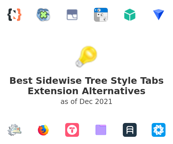 Best Sidewise Tree Style Tabs Alternatives