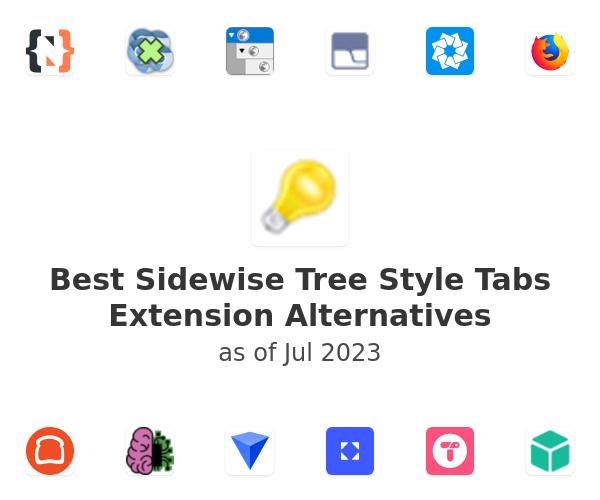 Best Sidewise Tree Style Tabs Alternatives