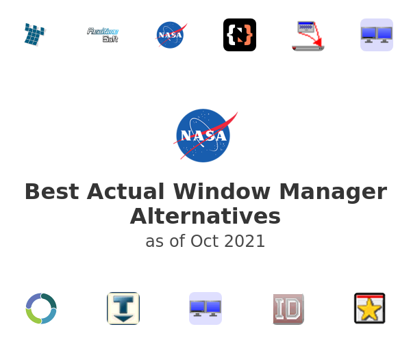 Best Actual Window Manager Alternatives