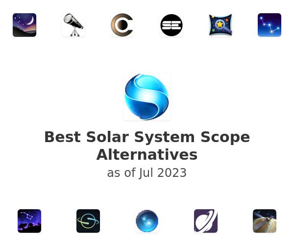 Best Solar System Scope Alternatives