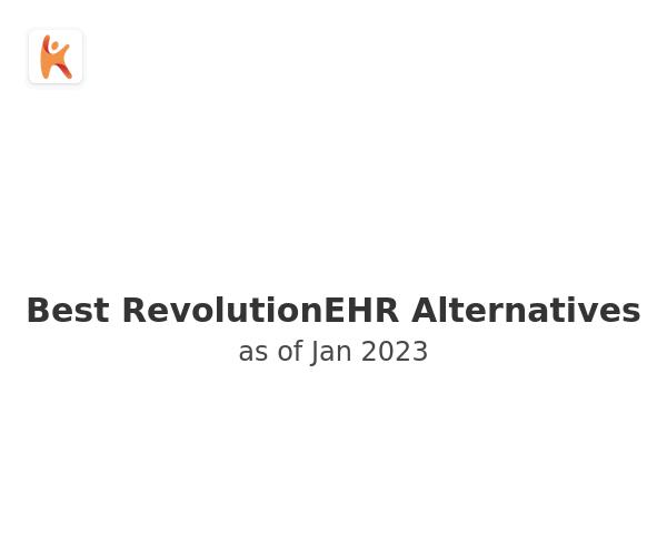 Best RevolutionEHR Alternatives