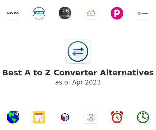 Best A to Z Converter Alternatives