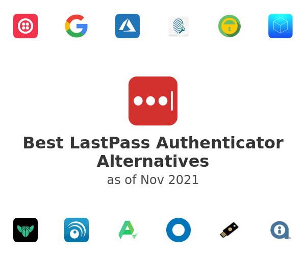 Best LastPass Authenticator Alternatives