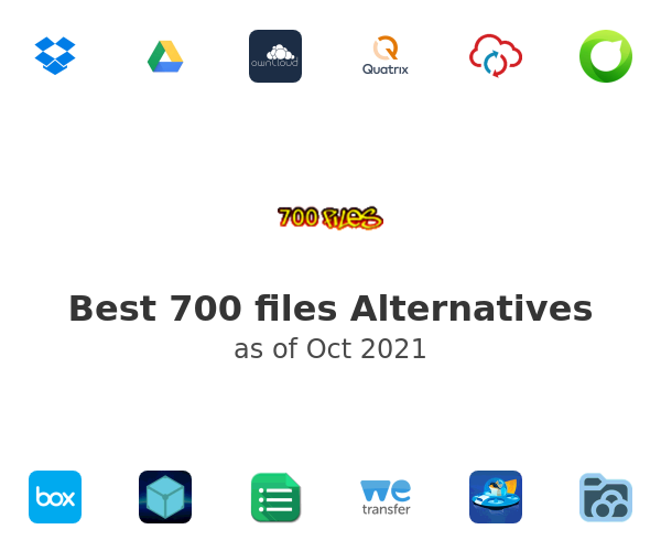 Best 700 files Alternatives