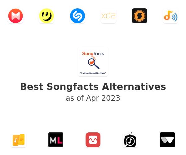 Best Songfacts Alternatives
