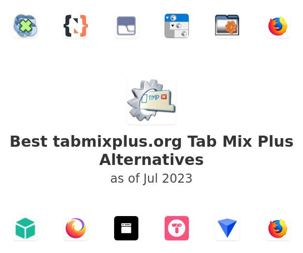 Best Tab Mix Plus Alternatives
