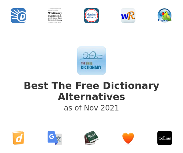 Best The Free Dictionary Alternatives