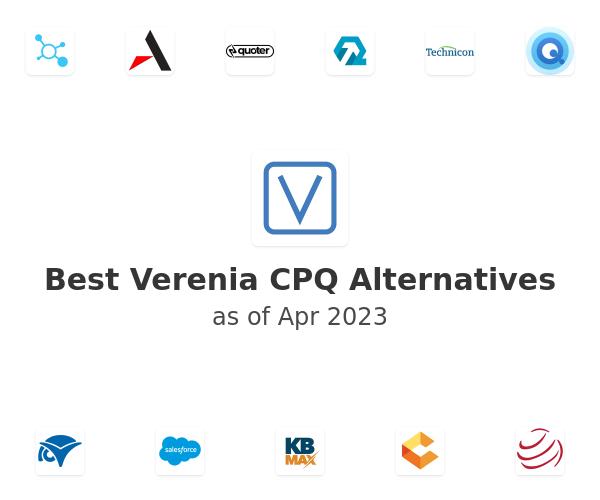 Best Verenia CPQ Alternatives