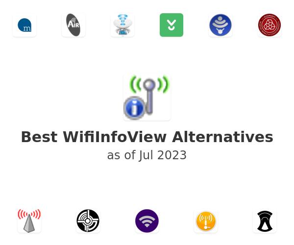 Best WifiInfoView Alternatives