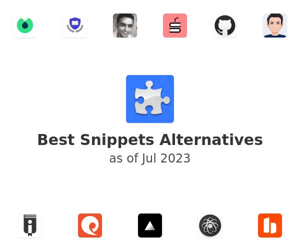 Best Snippets Alternatives