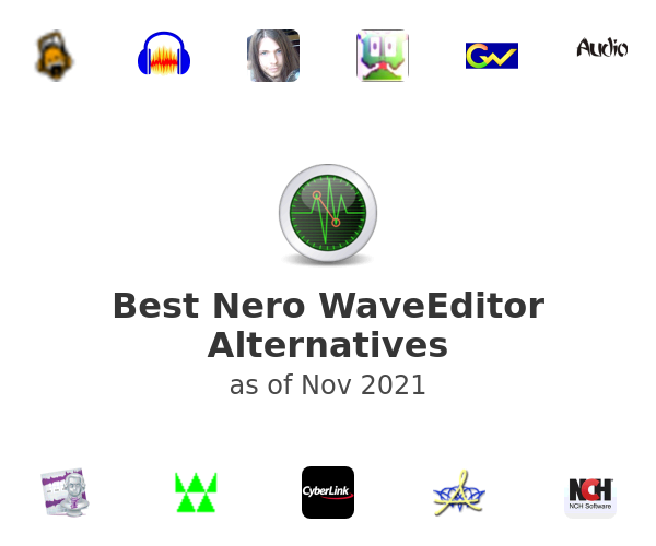 Best Nero WaveEditor Alternatives