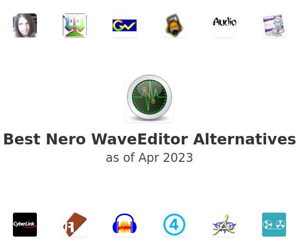 Best Nero WaveEditor Alternatives