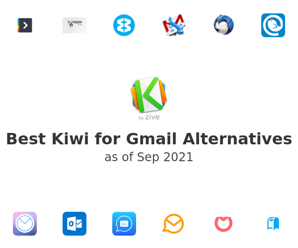 Best Kiwi for Gmail Alternatives