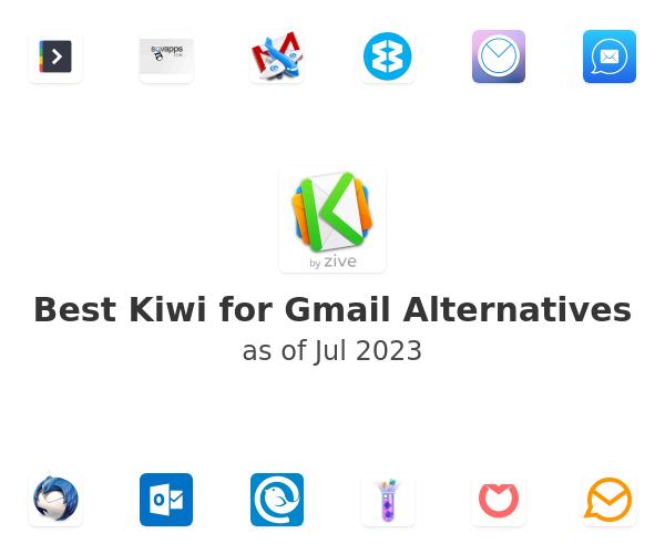 Best Kiwi for Gmail Alternatives