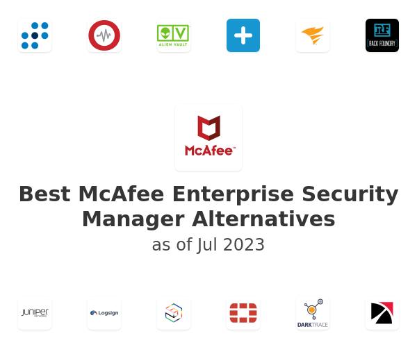 Best McAfee Enterprise Security Manager Alternatives
